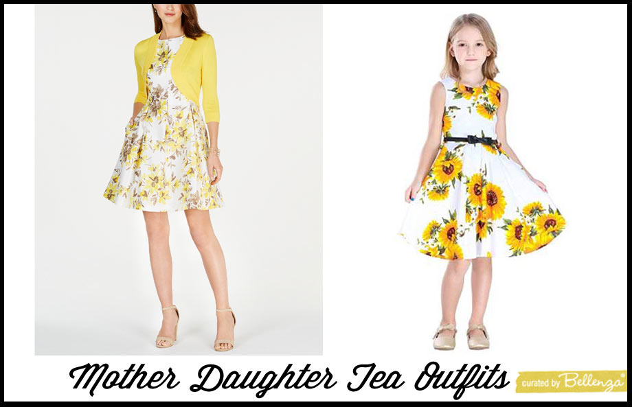 Mommy and me outfits in yellow