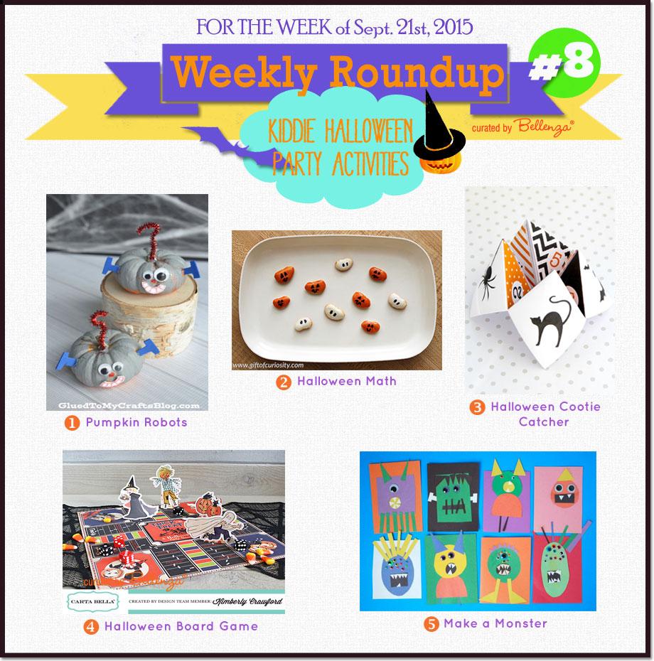 Kiddie Halloween Party Activities for Fun with Kids! #halloweenactivities