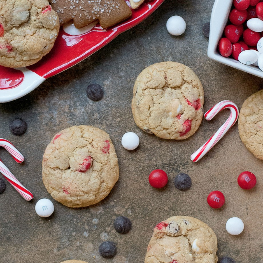Peppermint Cookies. Photo credit: Pineapple and Coconut