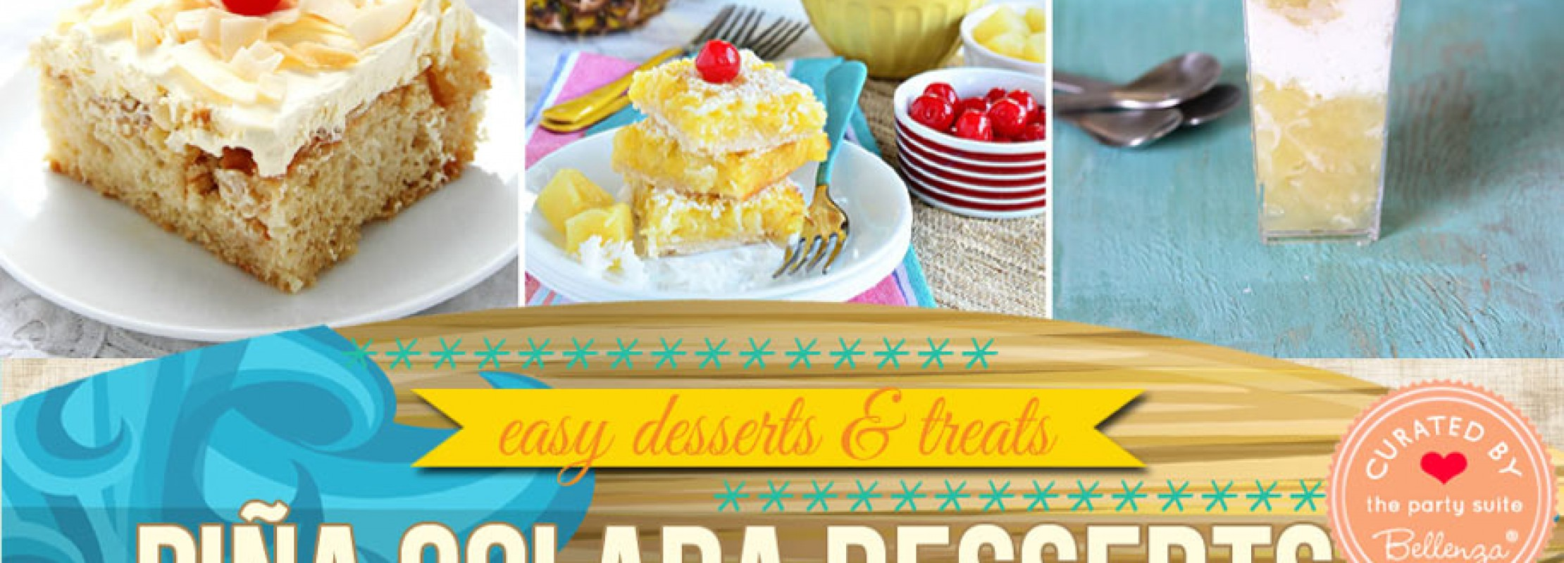 Pina colada recipe finds for tropical summer parties