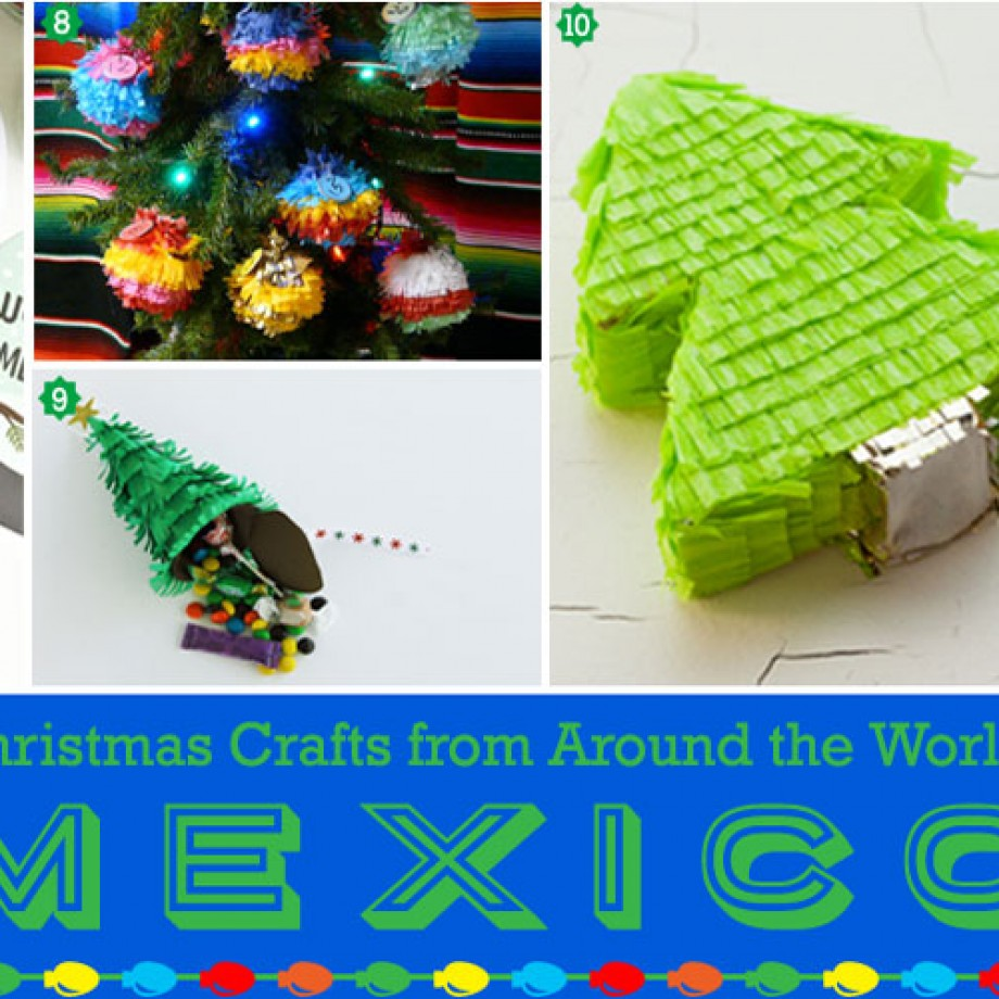 Christmas Around The World Party Ideas Part - 19: Christmas Craft From Mexico: Pinata-inspired DIY Decorations