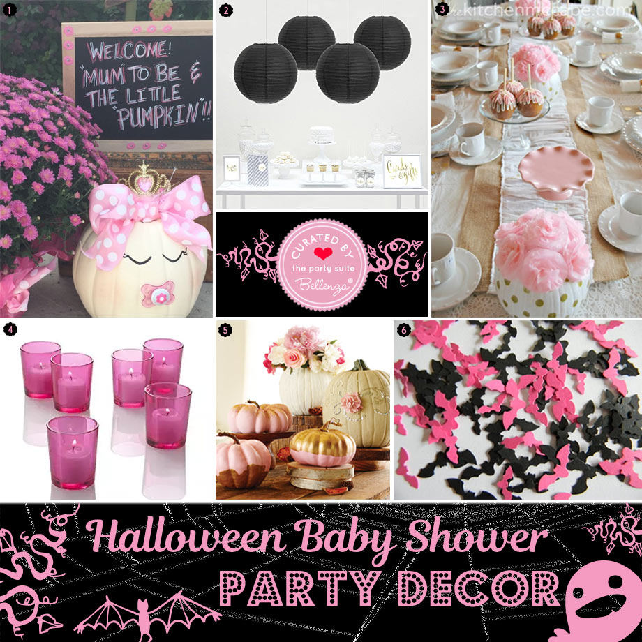 Pink Halloween Baby Shower Ideas Our Guide For Food To Favors