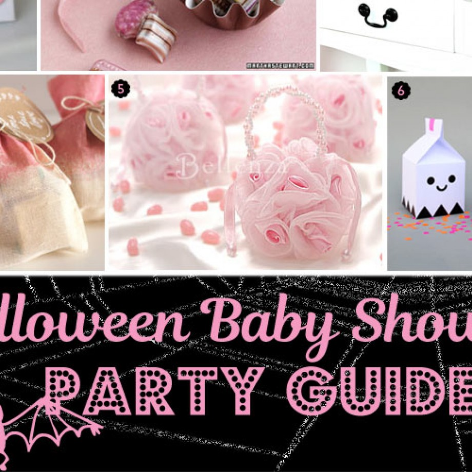 Pink-O-Ween or Pink Halloween Baby Shower Guide