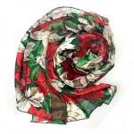 12 - Christmas scarf