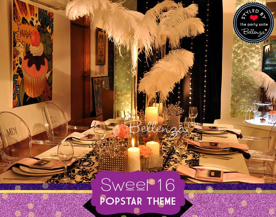 Glam Popstar Sweet 16