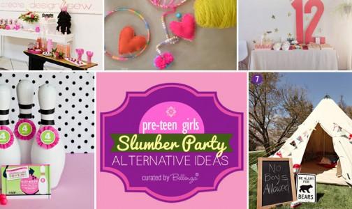 Pre-teen slumber party alternatives by Bellenza.