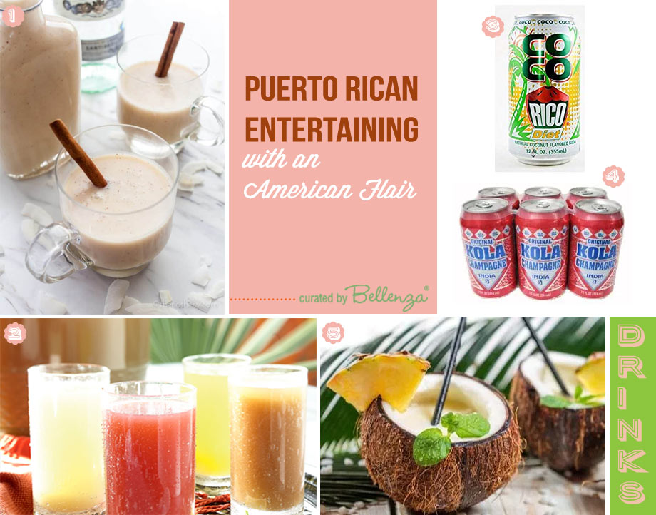 Puerto Rican party drinks