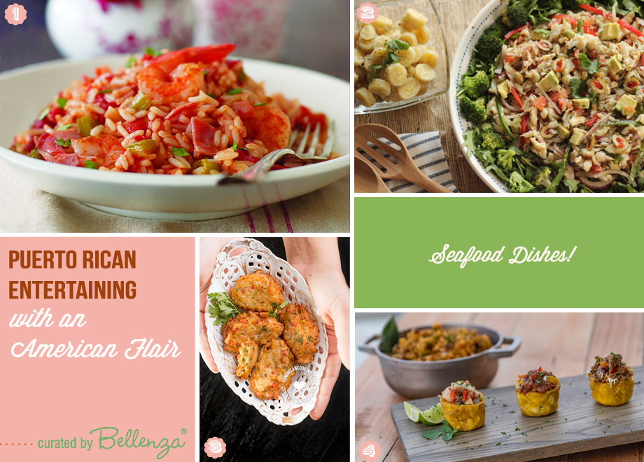 Puerto Rican seafood dishes