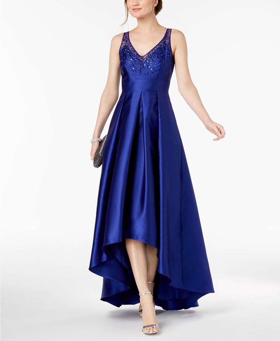 Royal blue sweet 16 dress