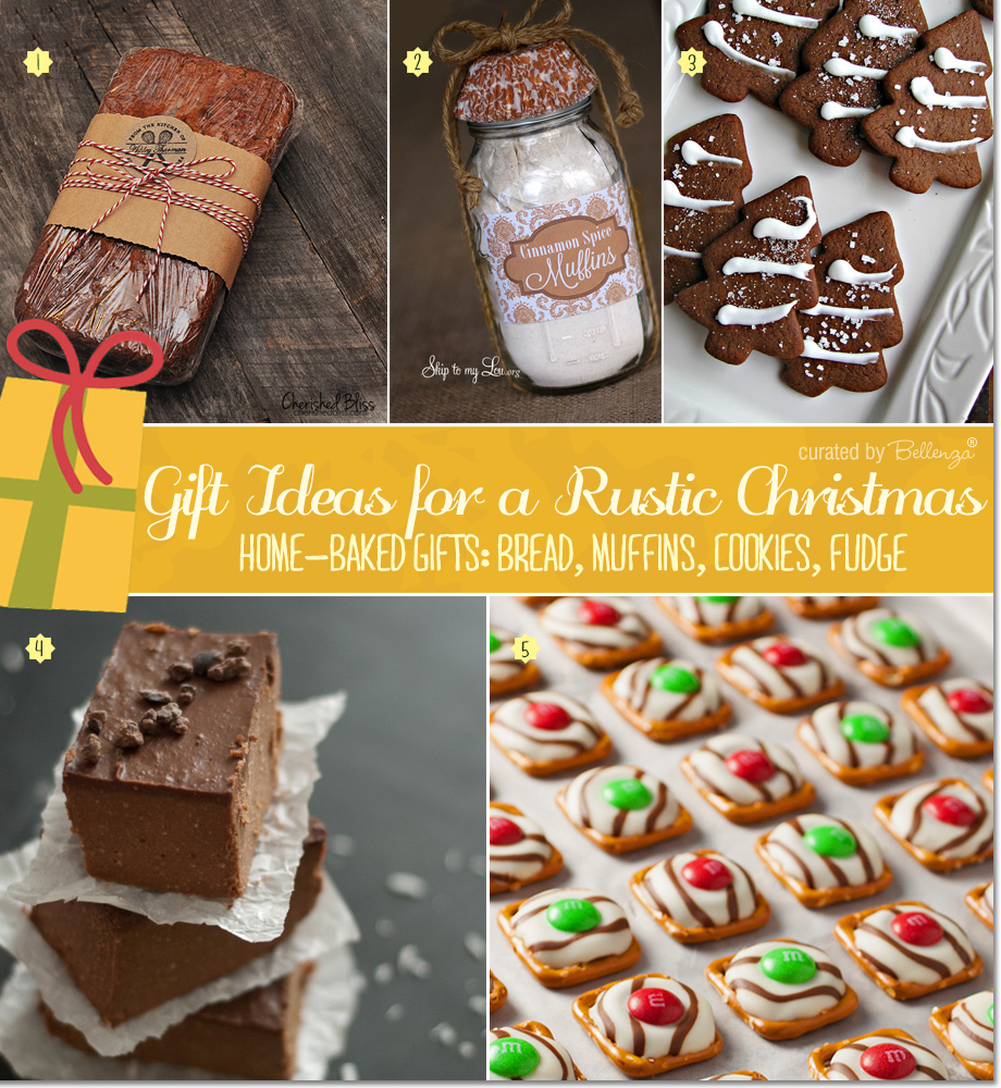 from banana bread to brownies rustic sweets for christmas