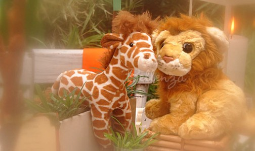 Preview! Get a Glimpse of Our Jungle Safari Baby Shower Series