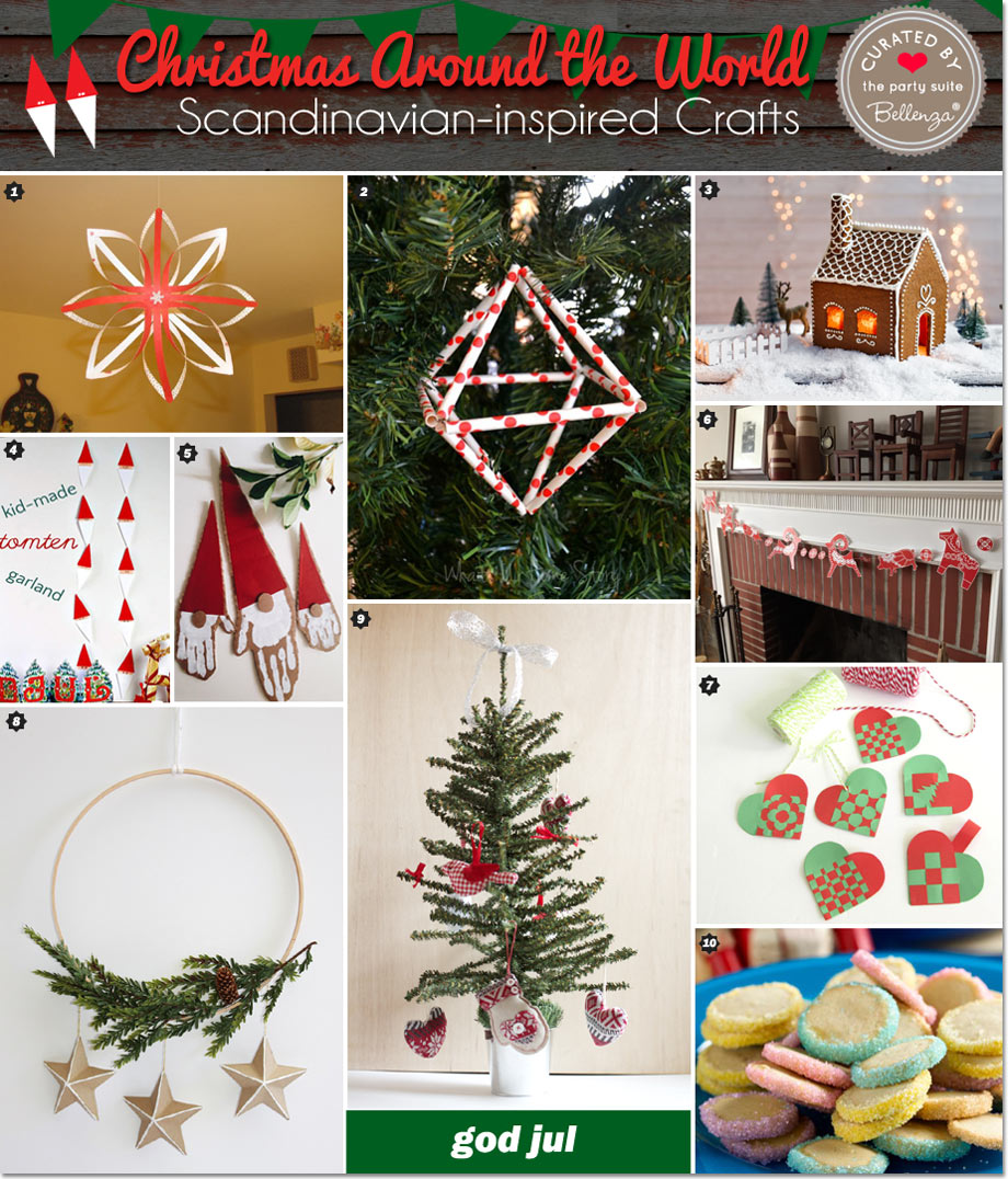 Scandinavian Christmas Crafts and Decorations