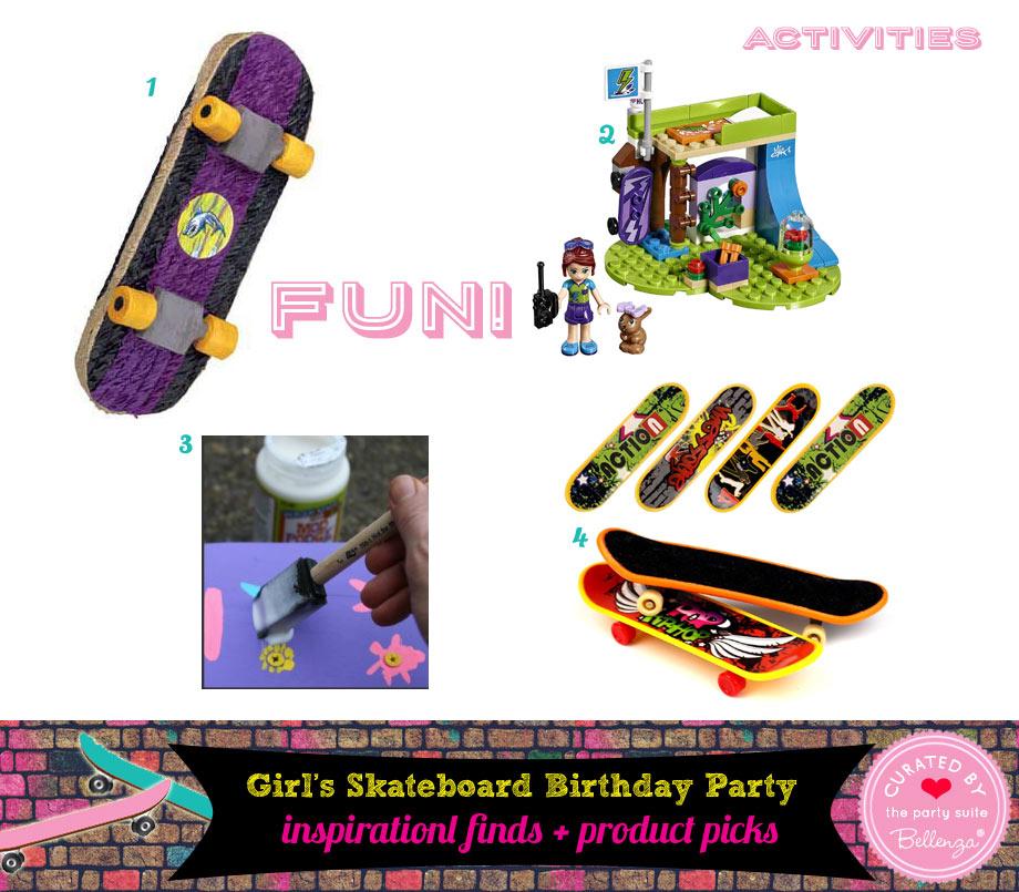 Fun Skateboarding Party Activities