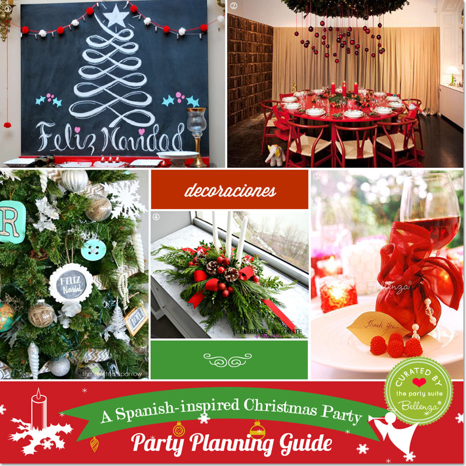 ideas for dcor favors and gifts with spanish flair - Spanish Christmas Decorations