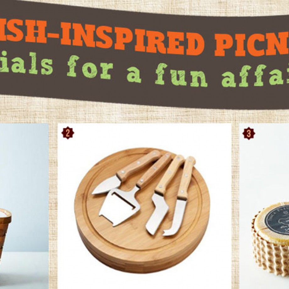 Spanish themed picnic food and wine ideas