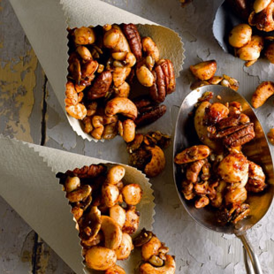 Spiced nuts recipe from Tesco