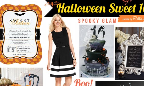 Halloween Sweet 16 Ideas