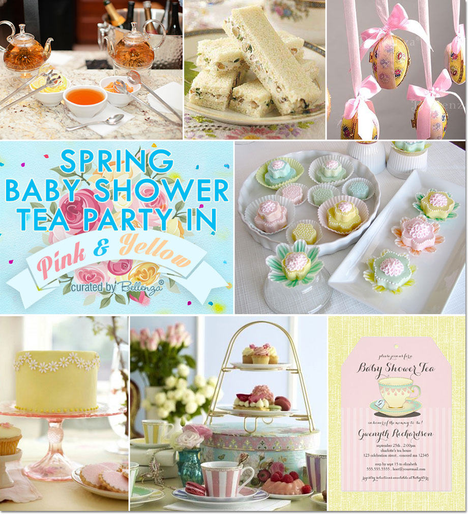 7 Basic Elements For A Baby Shower Tea Party