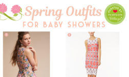 10 Spring Baby Shower Guest Outfits with Floral Touches