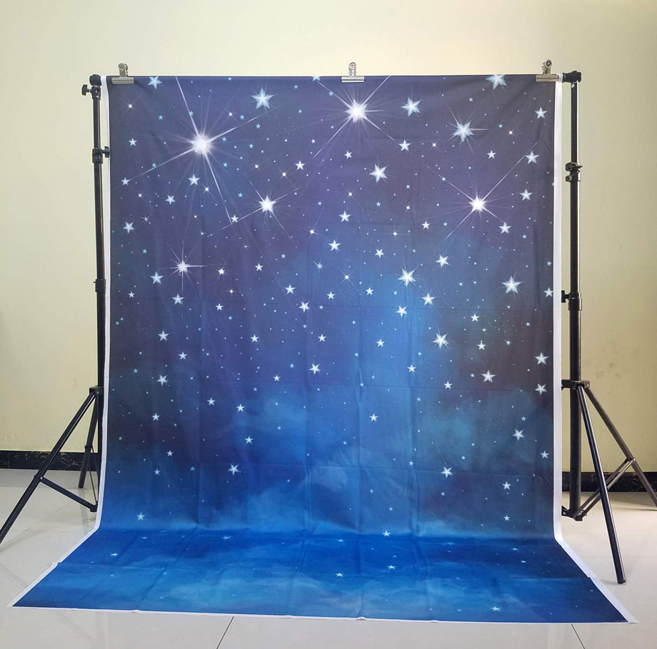 Under the stars sweet 16 photo booth backdrop