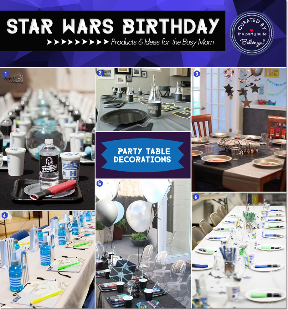 20 Star Wars Party Ideas For The Busy Mom As Featured On Suite At