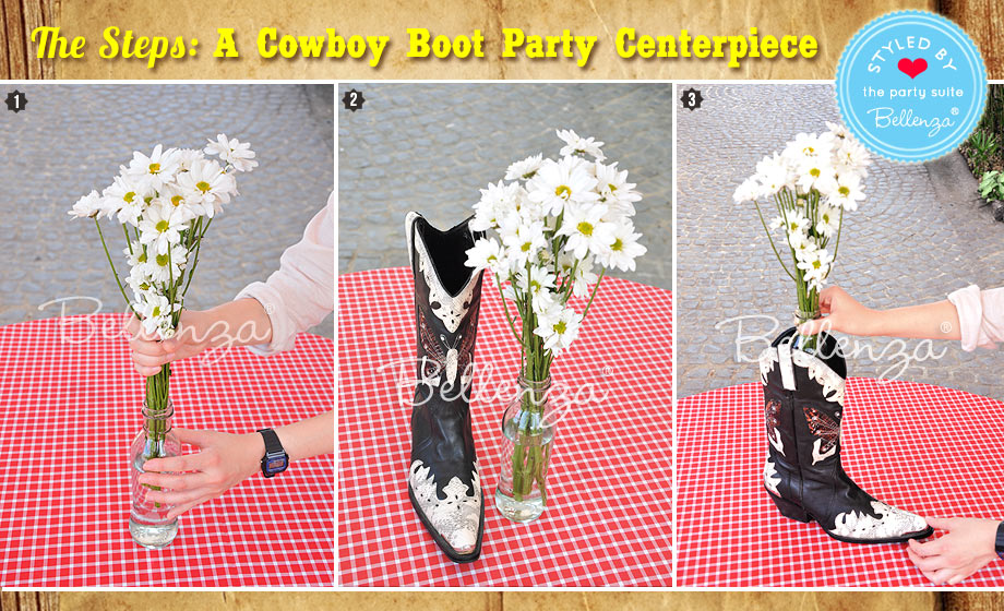 Make the Centerpiece in 5 Easy Steps!