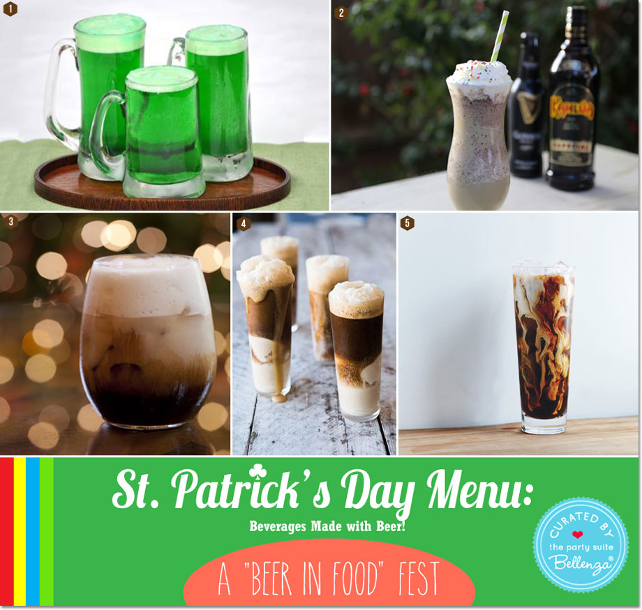 Irish-inspired Beverages Made with Beer for St. Patrick's Day
