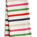 4 - Kate Spade New York striped napkins