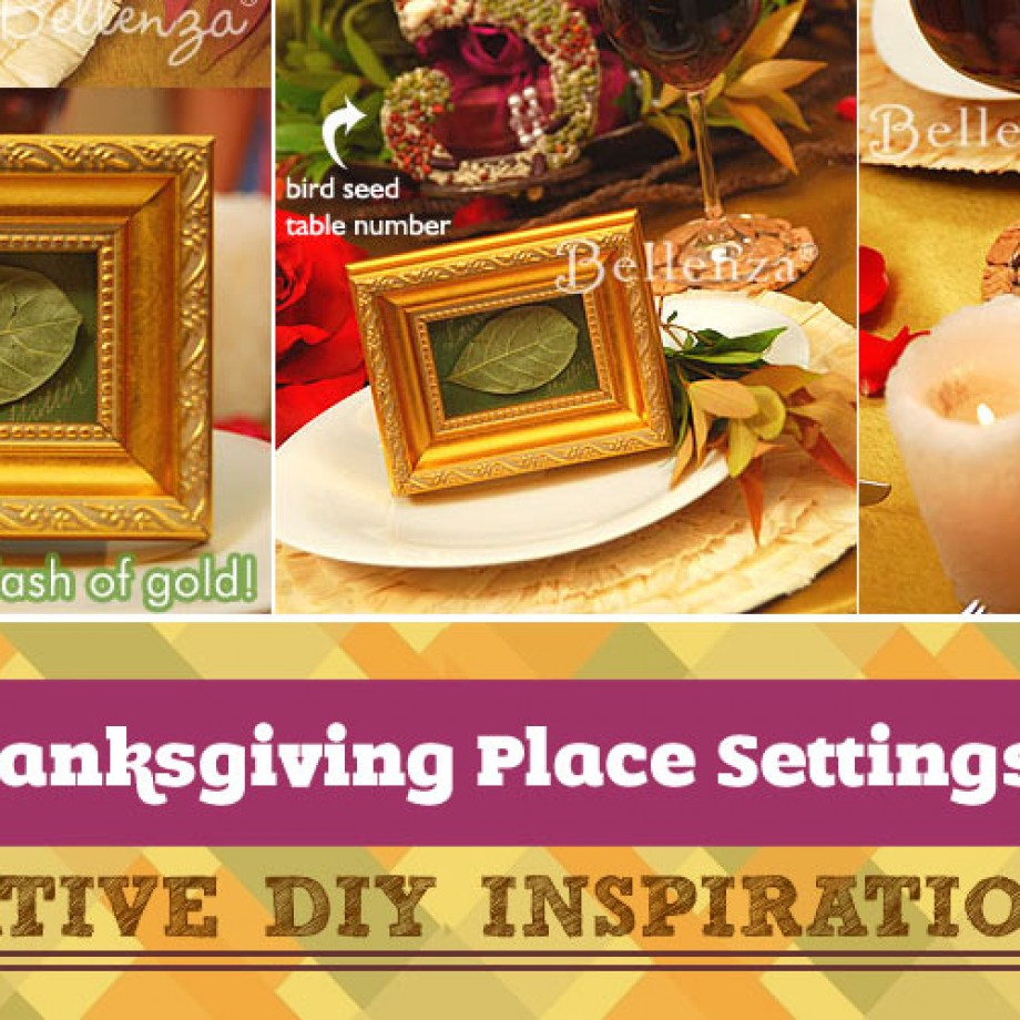 How to Decorate Your Thanksgiving Place Settings with Ease