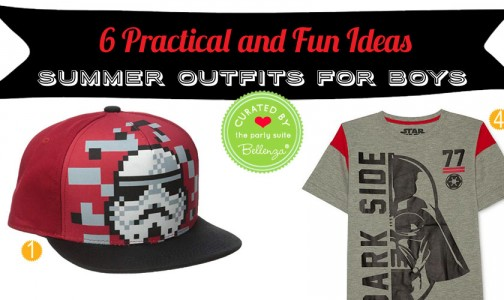 6 Fun Summer Outfits for Boys with a Theme