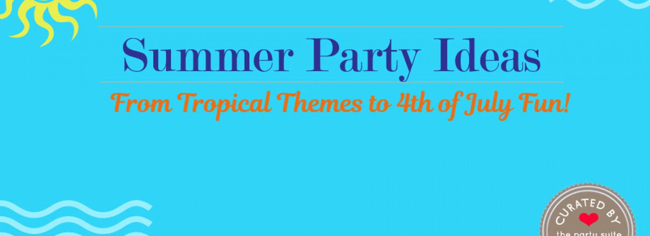 Summer Entertaining Ideas from Bellenza