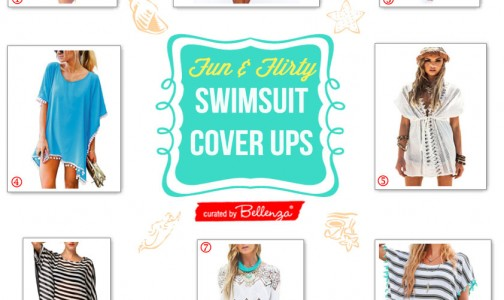 Pick Your Favorite Swimsuit Cover-ups Wear at the Beach or Pool