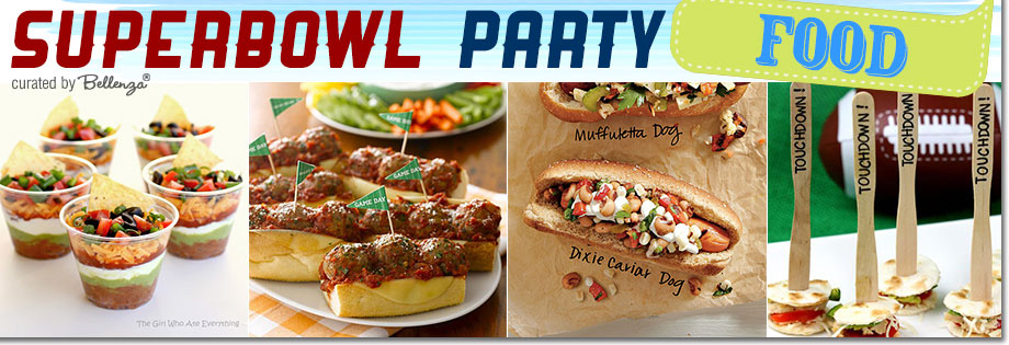Super Bowl Party Food and Snacks