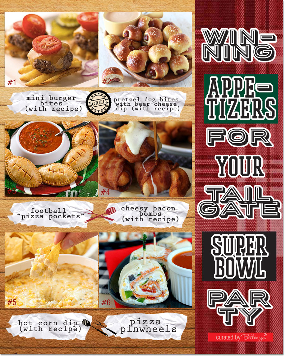 Appetizers for Your Super Bowl Tailgate Party