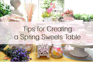 Spring Sweets Table by Bellenza