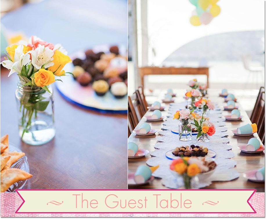 Table settings from Festa Com Gosto