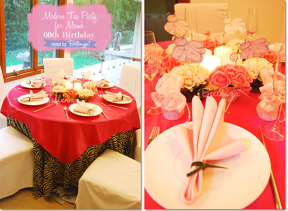 Choose A Vibrant Party Palette Tablesettingparty