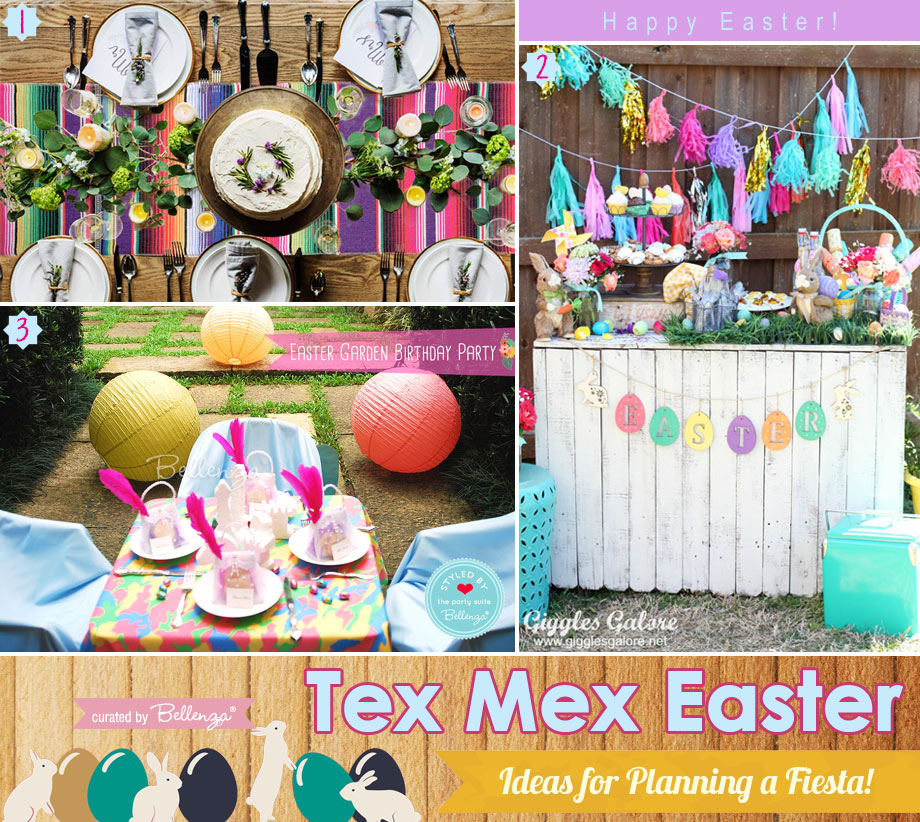 Tex Mex Easter Party Decorations