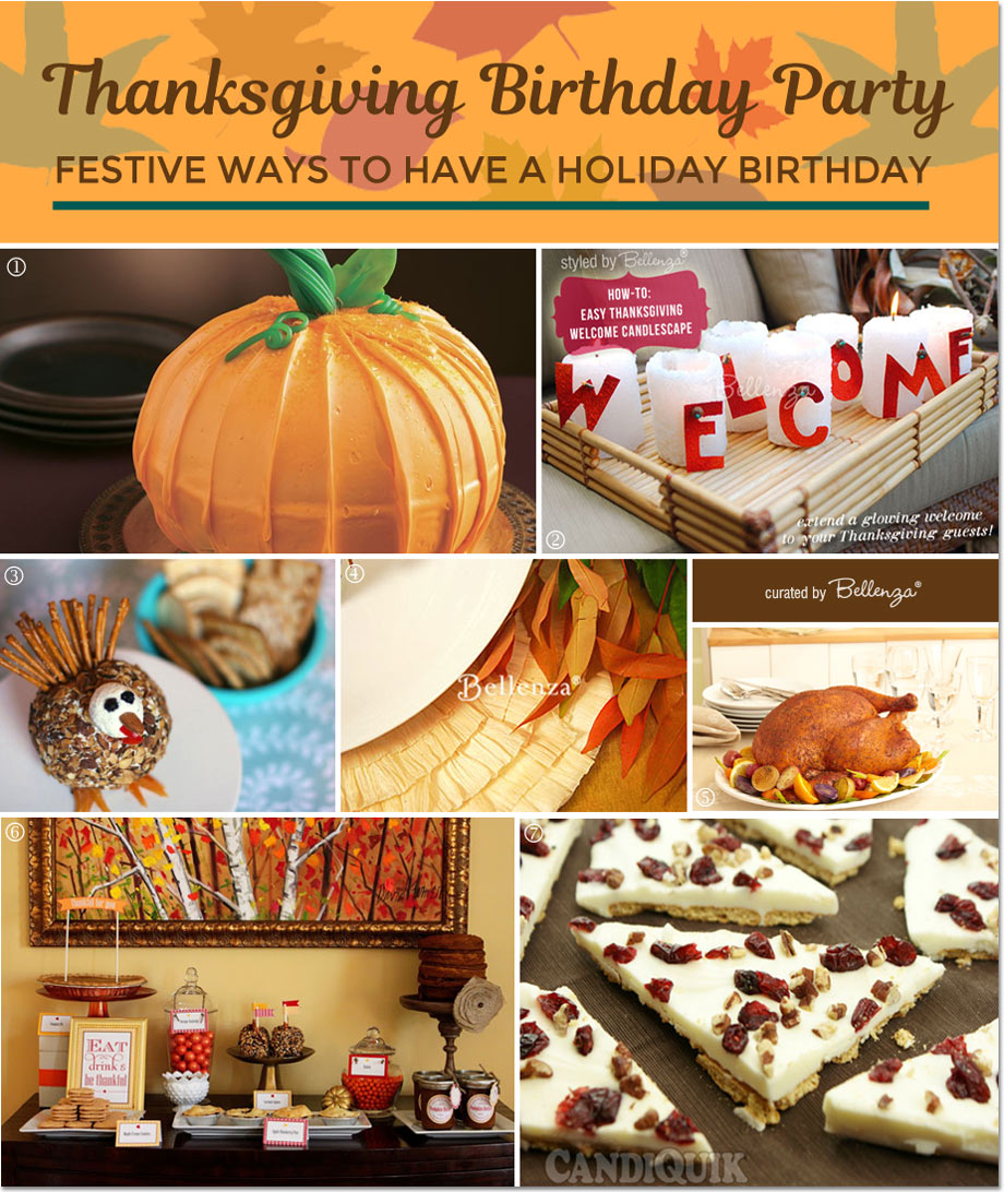 How to Host a Birthday on Thanksgiving