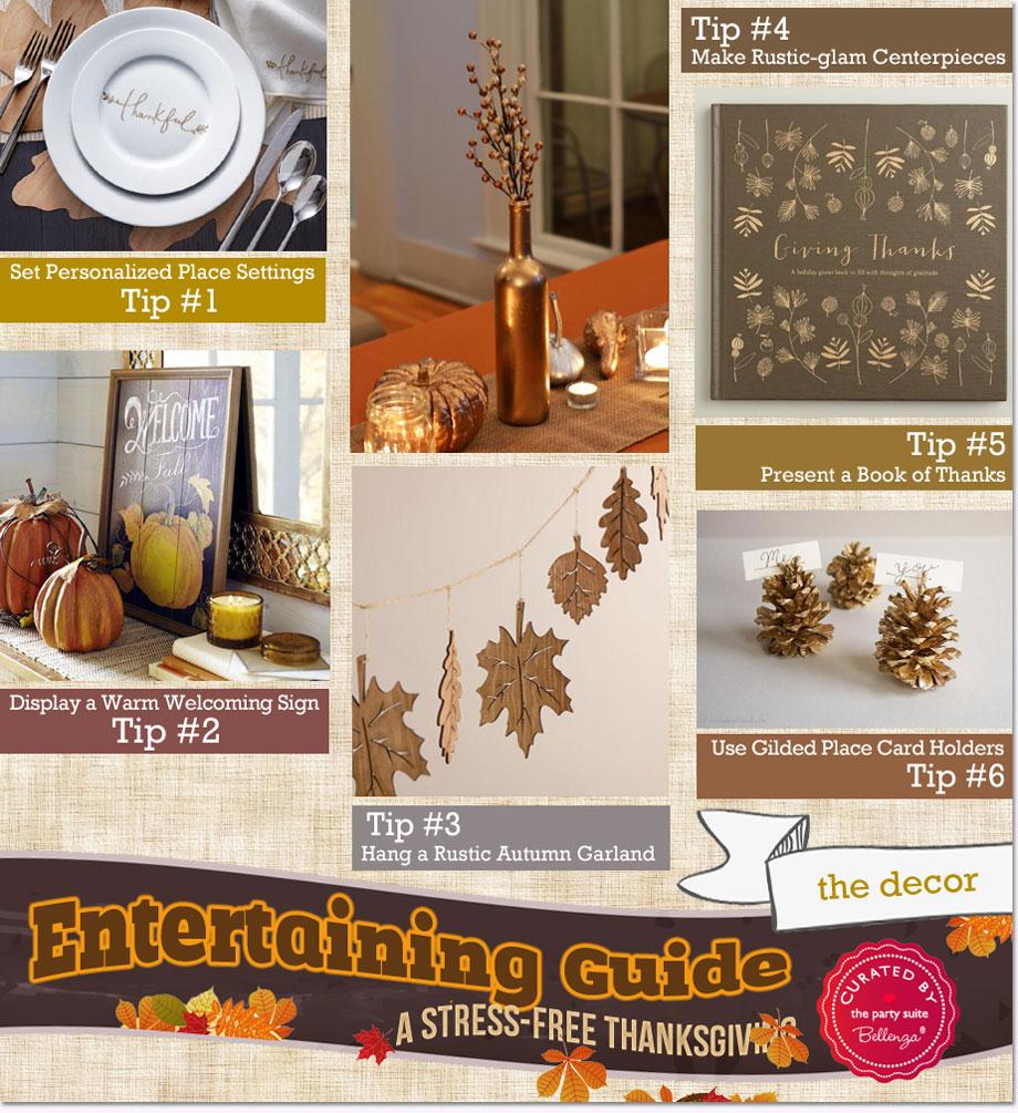 Easy Thanksgiving Entertaining Ideas!