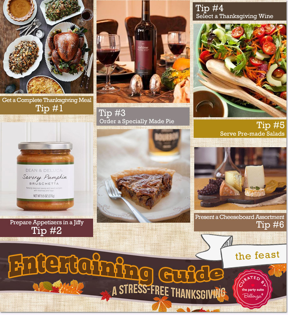 Thanksgiving food that you can order online for a stress-free Thanksgiving!