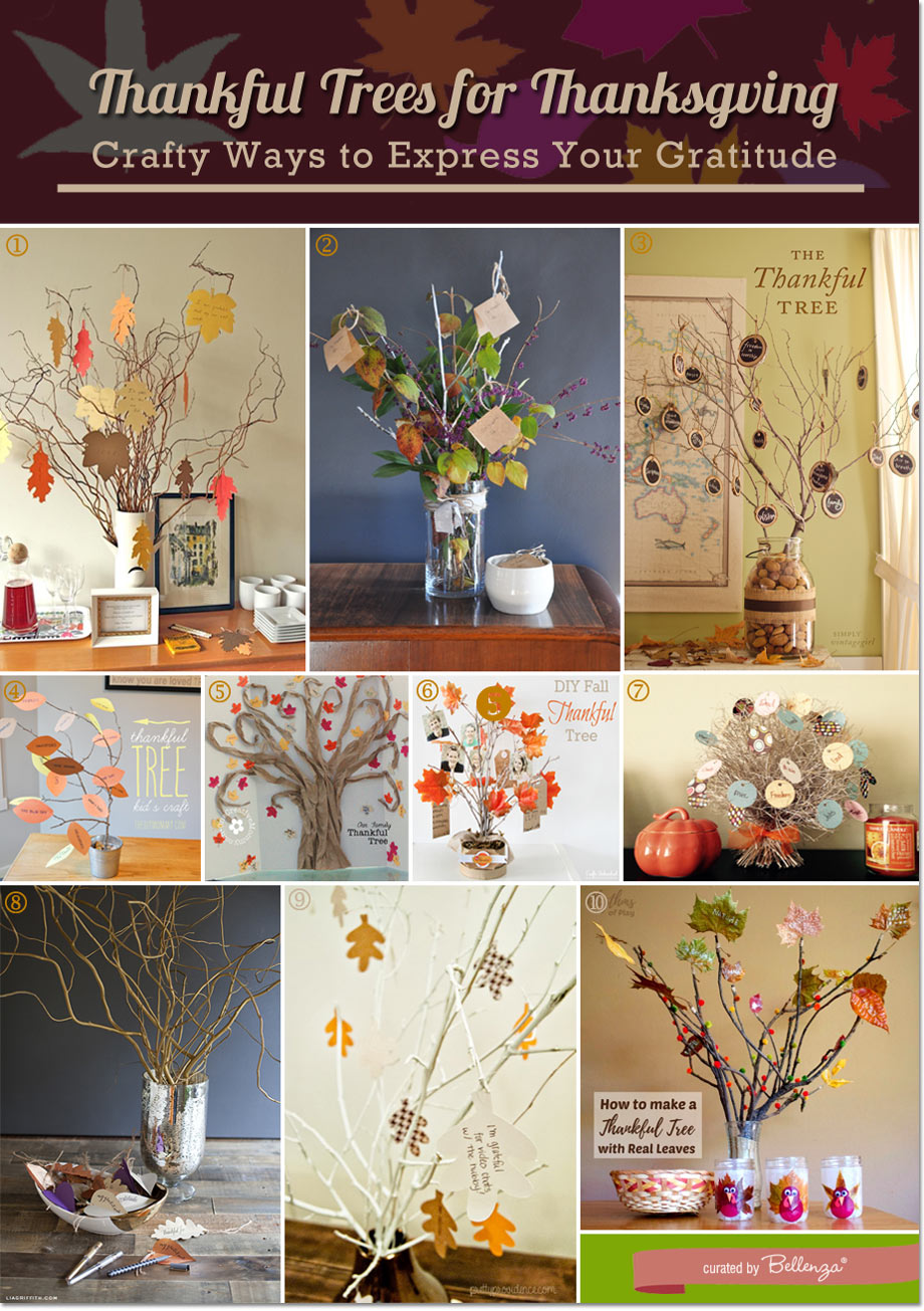 Thanksgiving trees ideas
