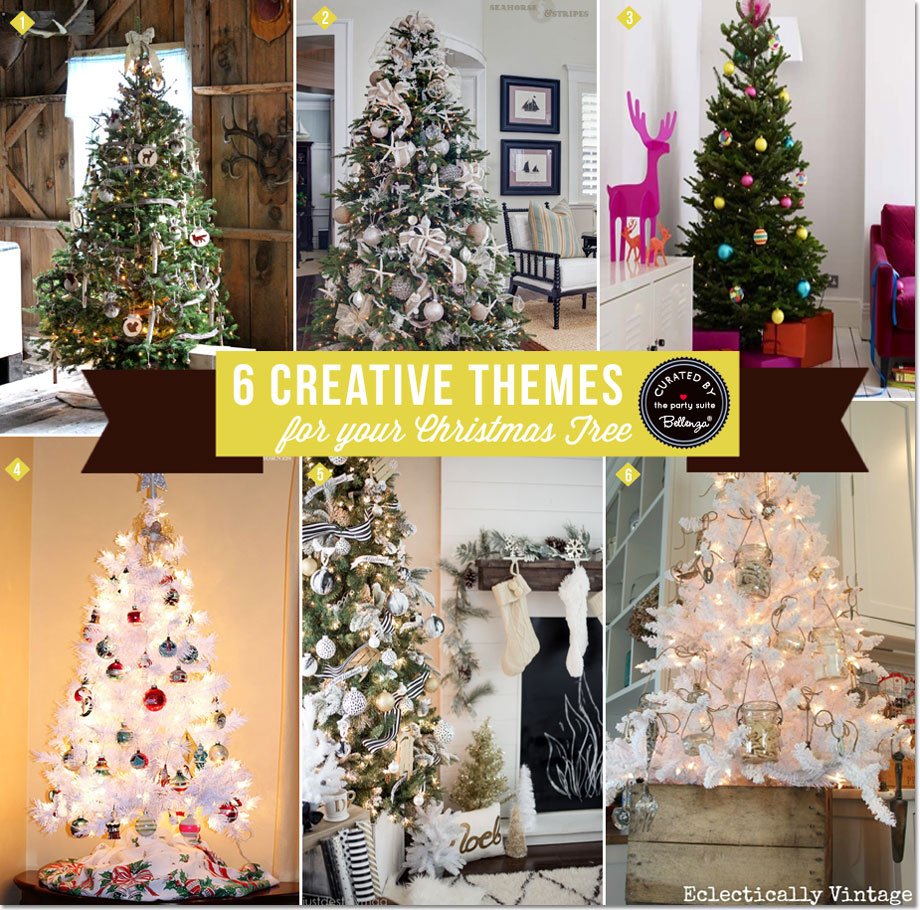6 Creative Ways to Make a Themed Christmas Tree