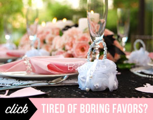 Tired of boring favors