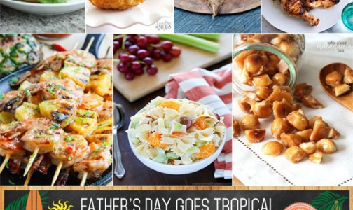 A Tropical Fathers Day Cookout Me