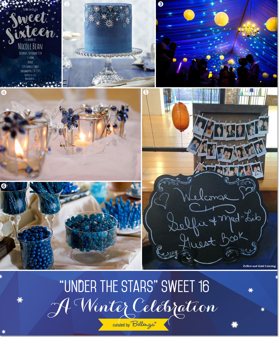 Under the Stars Sweet 16 for a Winter Celebration // Curated Finds by Bellenza