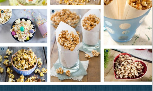 Unique popcorn recipes for year-round parties!