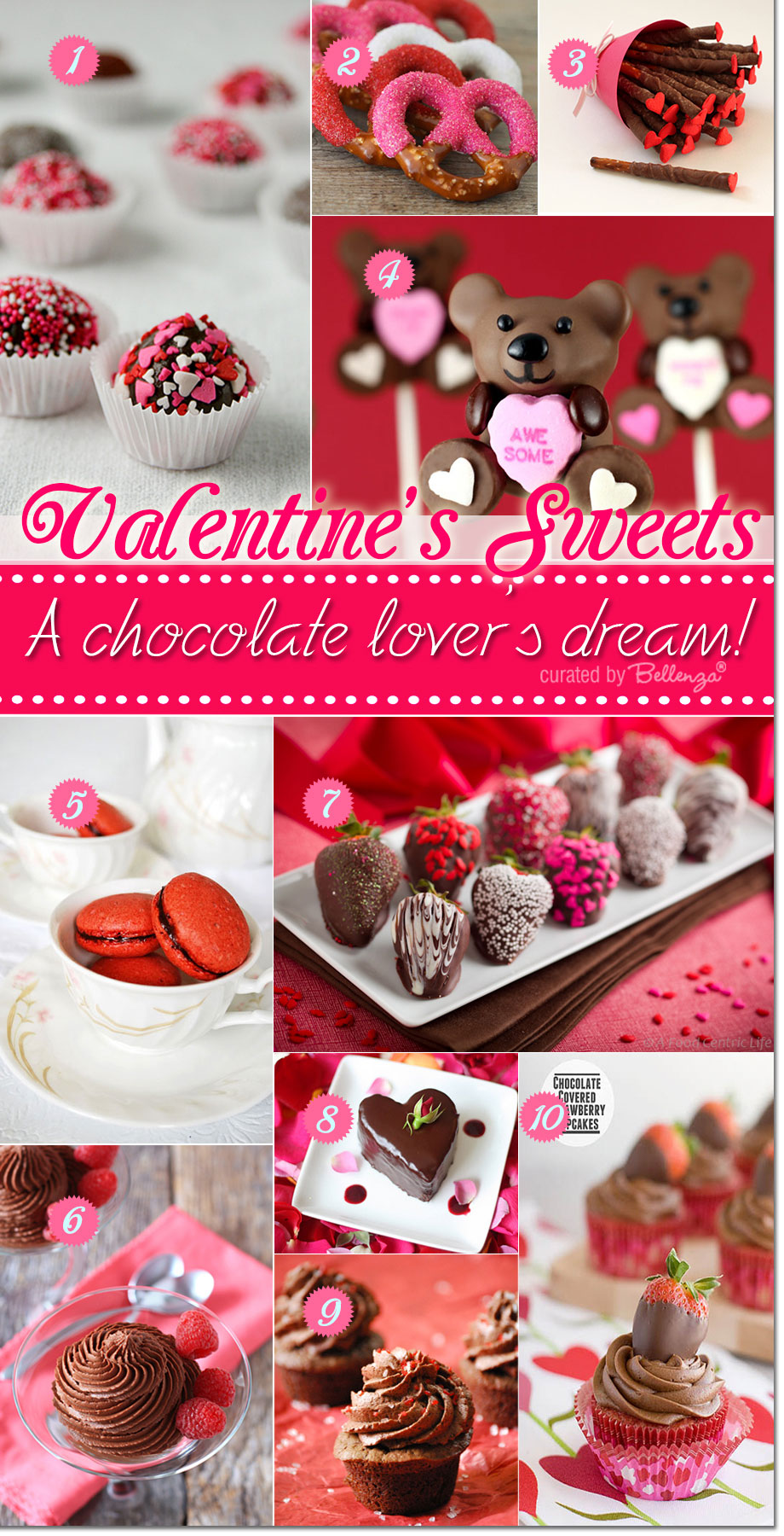 Valentine's chocolate recipe ideas for chocolate lovers