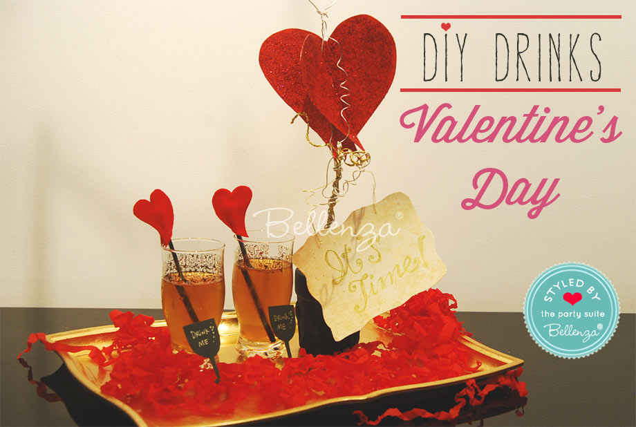 Romantic Valentine's Day Drink ideas