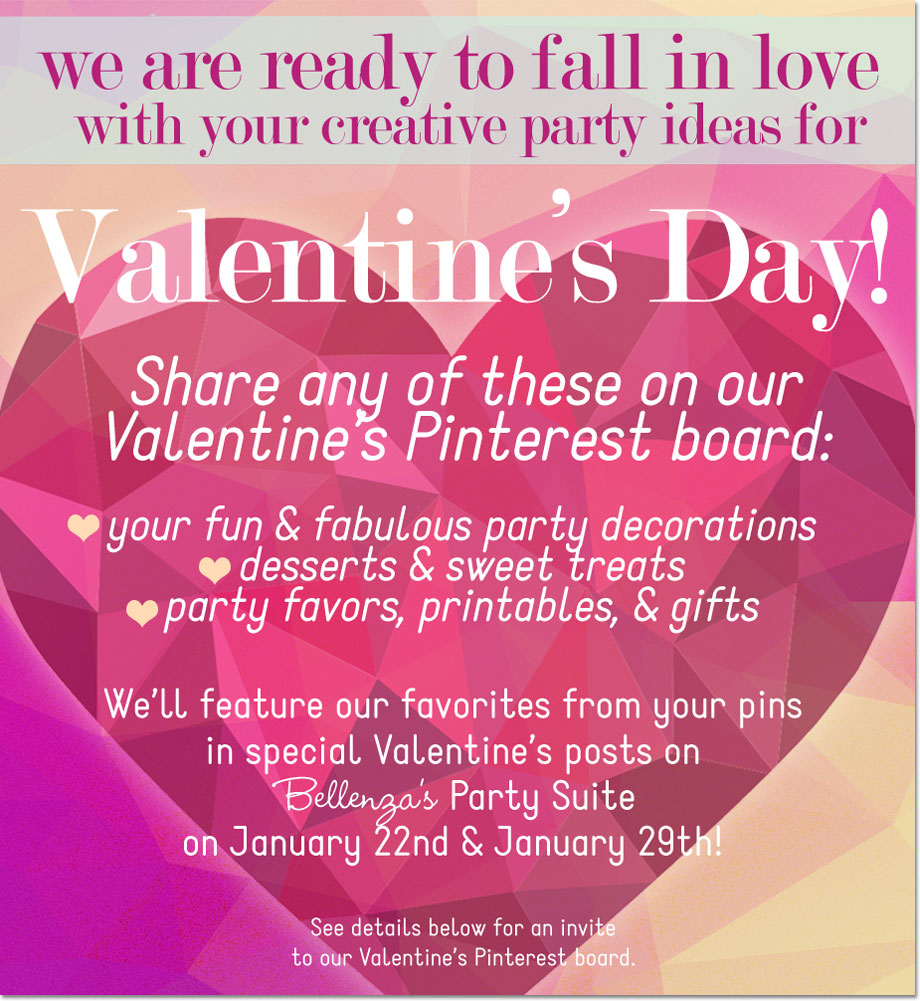 Valentine\'s Announcement: A Party Decor and Treats Fest!